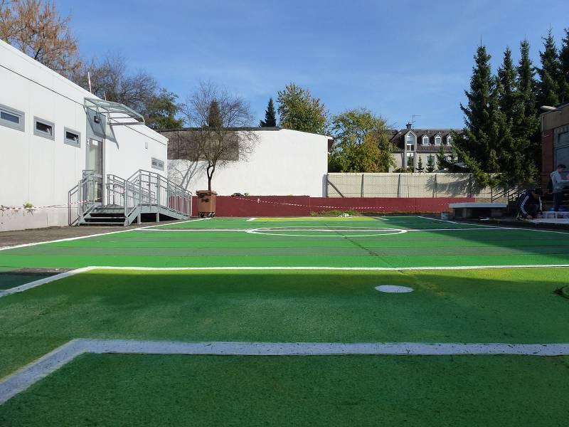 k-Fußballplatz fertig