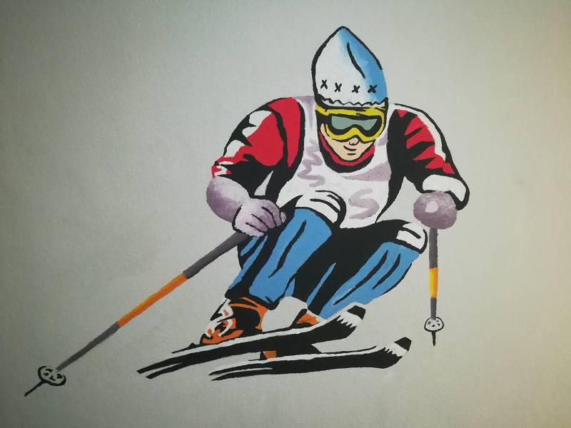 k-Ski Abfahrt